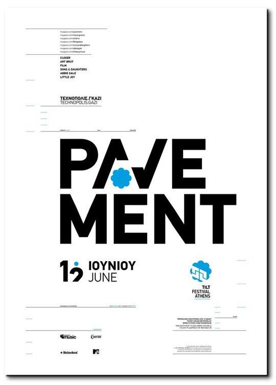 漂亮的文字排版设计90款国外海报设计2 设计之家图片