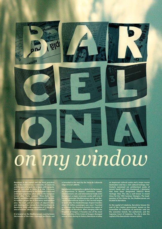 漂亮的文字排版设计:90款国外海报设计(7)
