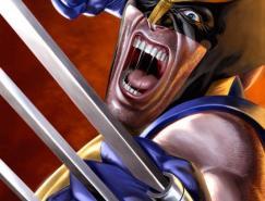 25张金刚狼X-Men战警插画作品欣赏
