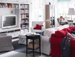 IKEA宜家2011起居室家居设计