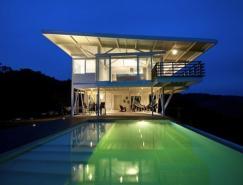 座落在哥斯达黎加热带丛林中的住宅设计