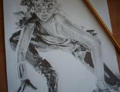 歌星LadyGaga插画作品欣赏