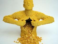 50个超漂亮的Lego艺术作品欣赏