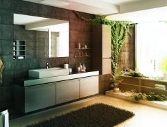 11个艺术浴室设计欣赏