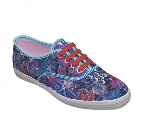 布鞋品牌Keds2010色彩丰富的鞋款设计