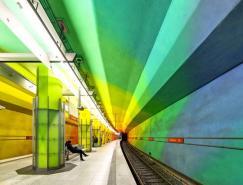 100張超酷繽紛色彩的建筑攝影