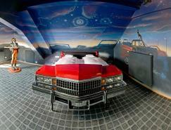 超酷设计的V8汽车旅馆