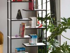 Faktura设计的极简风格书架