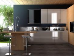 国外现代风格厨房皇冠新2网欣赏