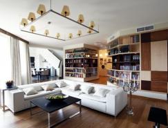 国外一套复式公寓室内皇冠新2网
