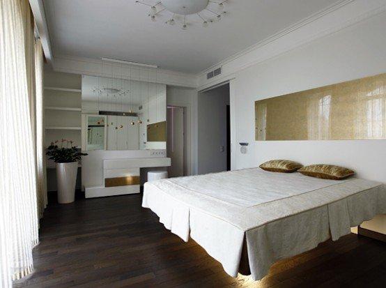 国外一套复式公寓室内设计