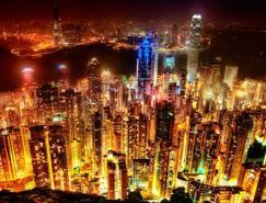 88张世界各地城市夜景摄影作品