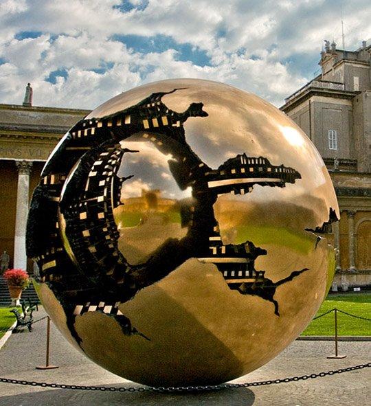 工业地球创意景观艺术雕塑