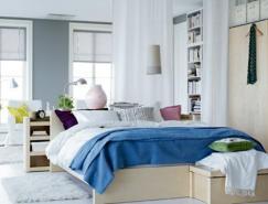 12个蓝色卧室室内设计欣赏