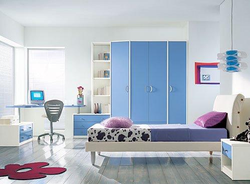 12个蓝色卧室室内设计v蓝色广西北海市城市规划建筑设计图片