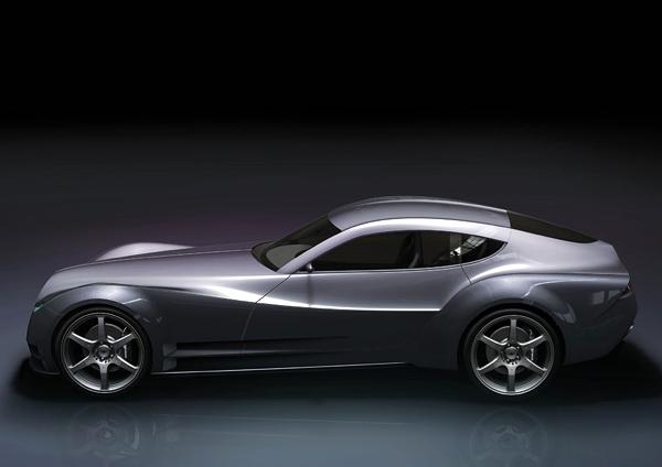 MorganEvaGT超级概念跑车