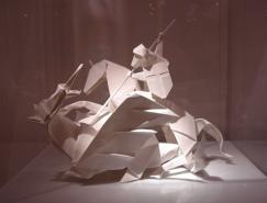 40个漂亮的折纸动物艺术