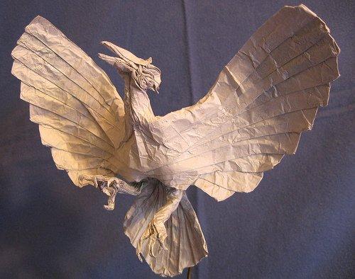 40个漂亮的折纸动物艺术(2)