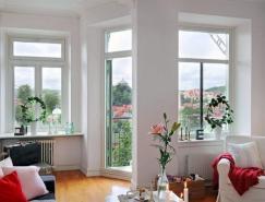 来自瑞典明亮简洁的公寓设计