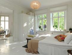 全明设计自然采光:北欧简约风格94平米公寓
