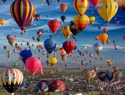 31张色彩缤纷的热气球摄影图片