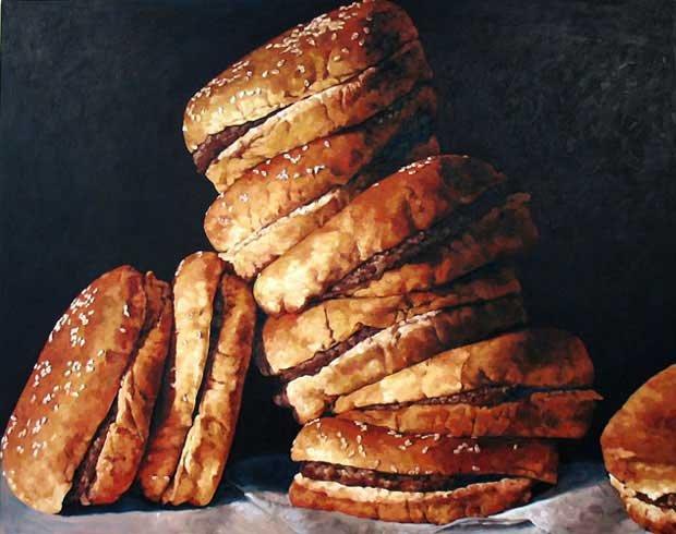 PamelaMichelleJohnson食品写实绘画作品