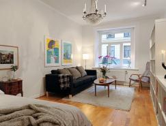 國外50平米小戶型單人公寓裝修設計