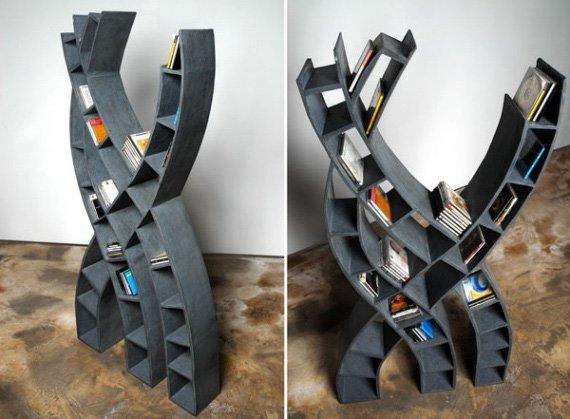 35款创意独特的书架设计