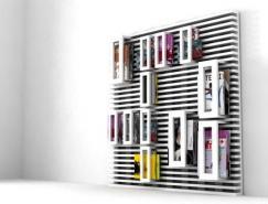 超酷创意的白木材质杂志和