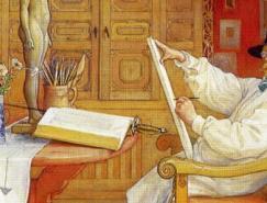 瑞典著名画家卡尔·拉森CarlLarsson