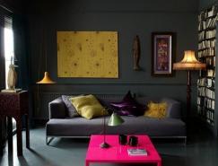酷酷的黑色调室内装饰设计