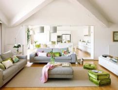 清新而温馨的室内装饰设计