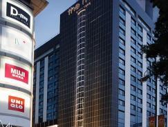 酒店室内设计欣赏:TheMira香港