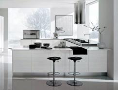 21款白色厨房设计欣赏