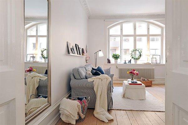 国外一套54平米小户型公寓设计