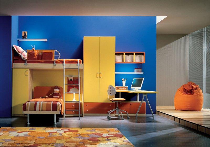 16个整洁儿童房设计 陈设有趣家具 专辑 60款超酷的青少年