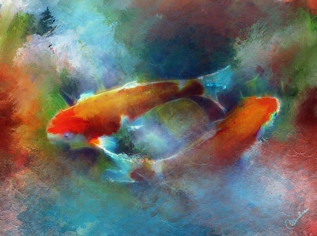 Phatppupy色彩丰富的绘画作品