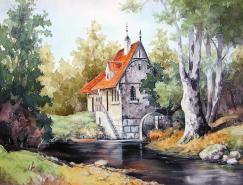 俄罗斯VasilyYarmin绘画作品欣赏