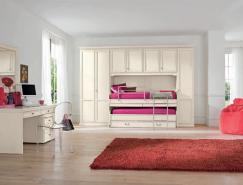 10个使用古典家具的国外现代女孩房间设计