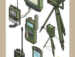挪威陆军技术插图作品