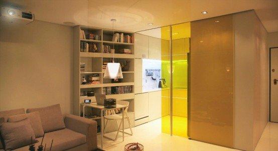 Closet舒适的44平米公寓室内�|快3彩票官网