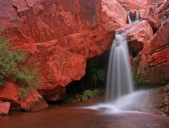 壮观的瀑布摄影图片欣赏