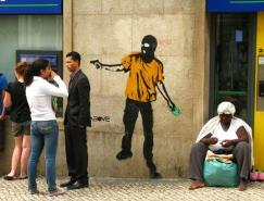 国外漂亮的街头绘画艺术