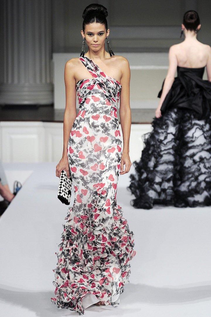 OscardelaRenta2011春季时装