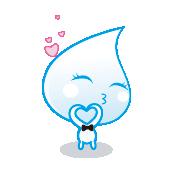 苹果ipad2_小水滴点点欢乐表情png图标 - 设计之家