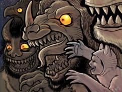 MissMonster怪兽插画欣赏