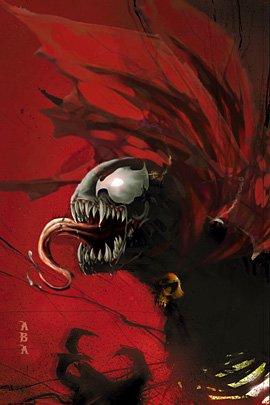 """蜘蛛侠反派""""毒液""""(Venom)插画欣赏 - 设计之家"""