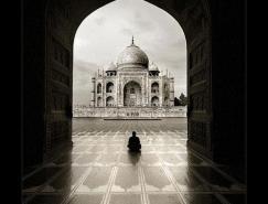 泰姬陵(TajMahal)黑白照片欣赏
