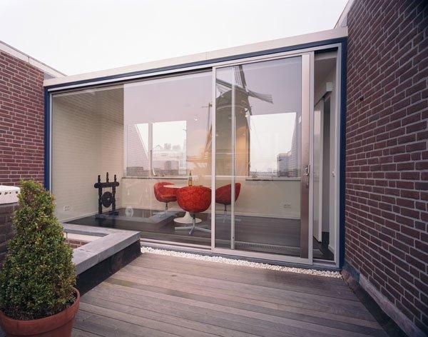 100平方米的现代公寓设计欣赏