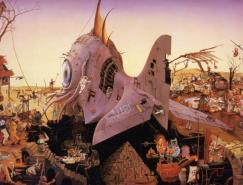 JacquesResch油画作品欣赏